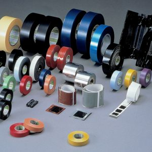 Elektroizolacione trake i trake za elektronsku opremu; samostežuće i otporne na toplotu